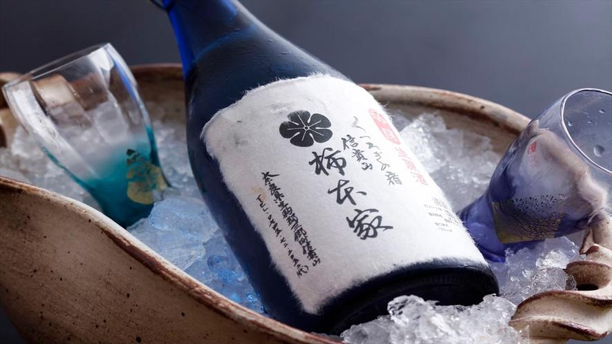 柿本家オリジナルの日本酒。人気です!