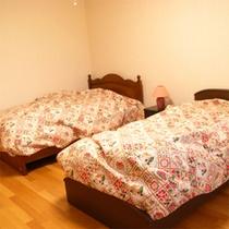 洋室ツインルーム一例