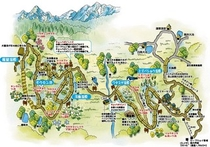 栂池自然園 地図