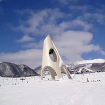 鐘の鳴る丘ゲレンデ
