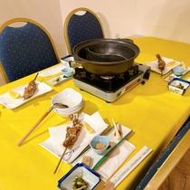 【夕食】料理長自慢の和食膳
