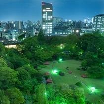 大隈庭園 夜景(イメージ)
