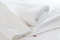 こだわりの「今治タオル」をお部屋にご用意。