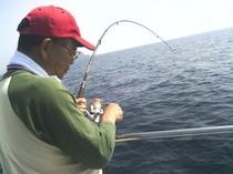 釣った魚を宿でBBQもできます
