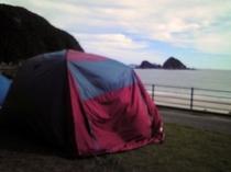 キャンプも楽しめます