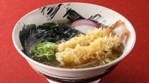*レストランメニュー【昼】/天ぷらラーメン 930円(税込)