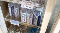 *売店/お水やお茶、飲み物各種ご用意しております。