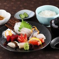 *レストランメニュー【昼】/刺身定食 1,400円
