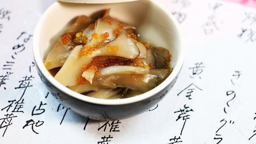 ■夕食_きのこ界のスター、舞茸料理はやはり人気です…。力が入ります!