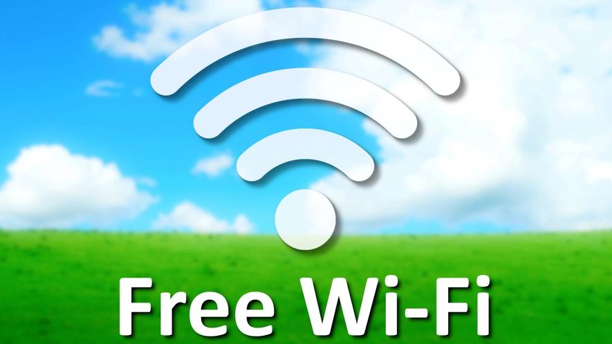 ■Free Wi-Fi_ご利用頂けます。速度が遅い場合がございます。