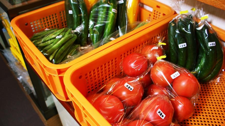 ■食材_館内にて野菜を販売しております。