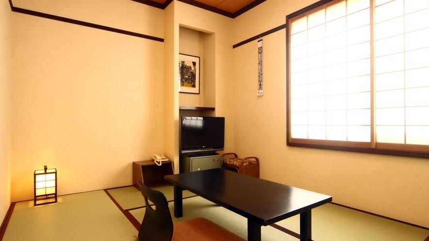 和室6畳◆1名利用も出来るこじんまりとした和室です