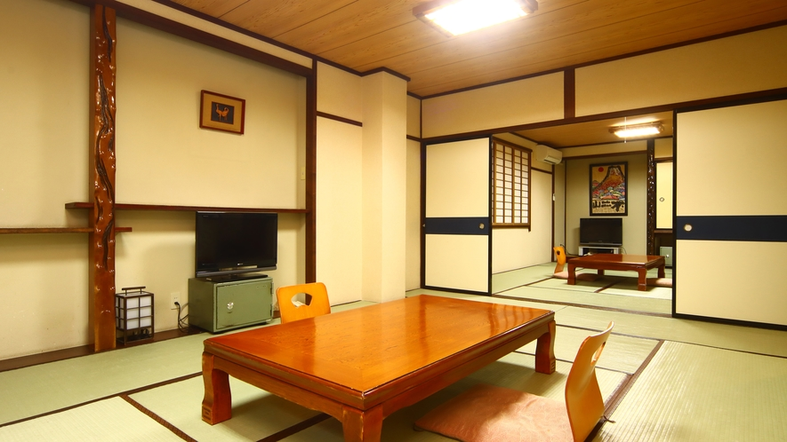 和室22畳◆ファミリーや友達同士でご利用いただけます