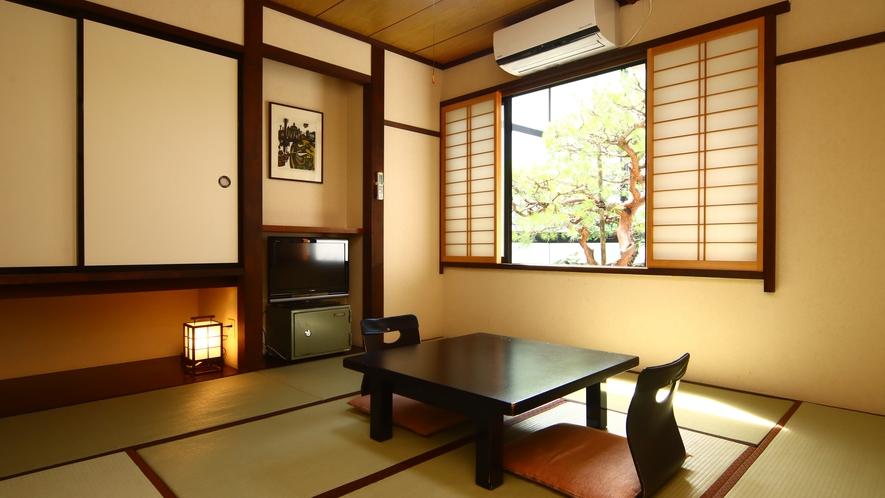 和室8畳◆カップルやご夫婦にオススメの広さです