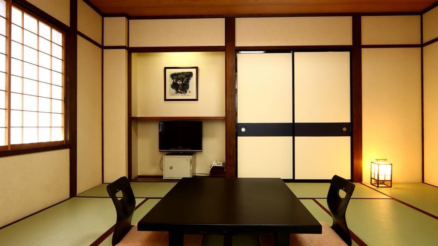 和室12畳◆落ち着いた雰囲気が漂う和室です