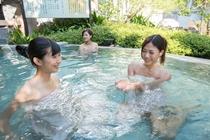 奥入瀬渓流 炭酸風呂