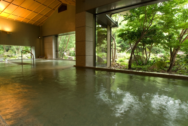 奥入瀬渓流 川の湯