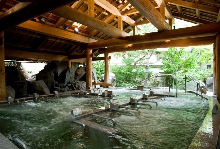 奥入瀬渓流 いやしのジャグジー