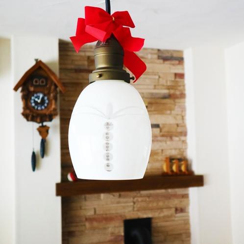【ダイニング】クリスマス仕様ライト