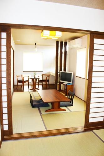 【和-Nagomi-】6畳+4.5畳+広縁付き(最大4人まで宿泊可)