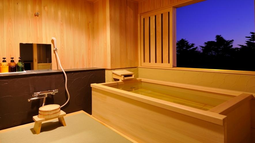 和室十二畳 露天風呂付 角部屋