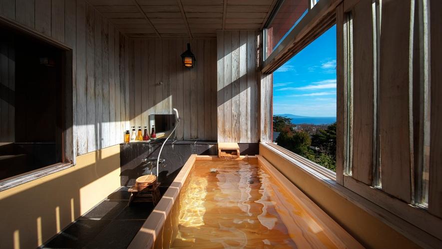 和室八畳間 露天風呂付 禁煙室 万三郎