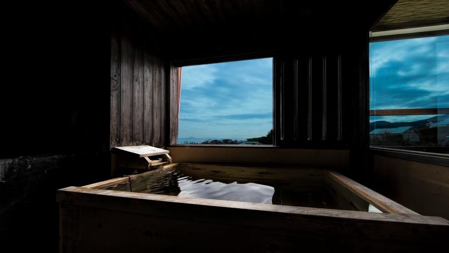 和洋室十二畳 露天風呂付 角部屋