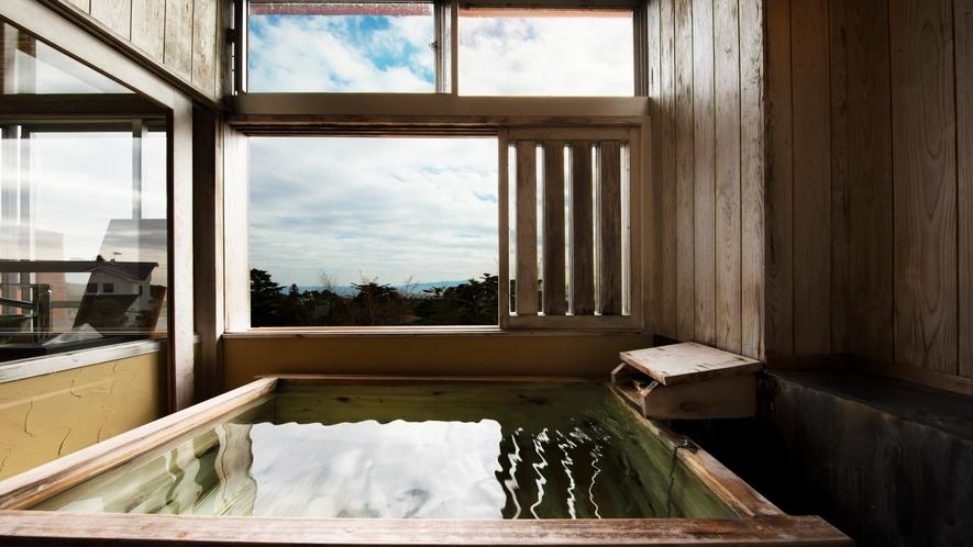 和室八畳間 露天風呂付 喫煙室 狩野