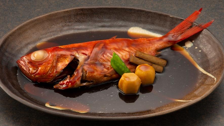 「全プラン共通」金目鯛の姿煮