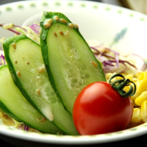 夕食 サラダ(1)