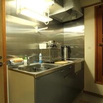 コテージYAMAHA キッチン