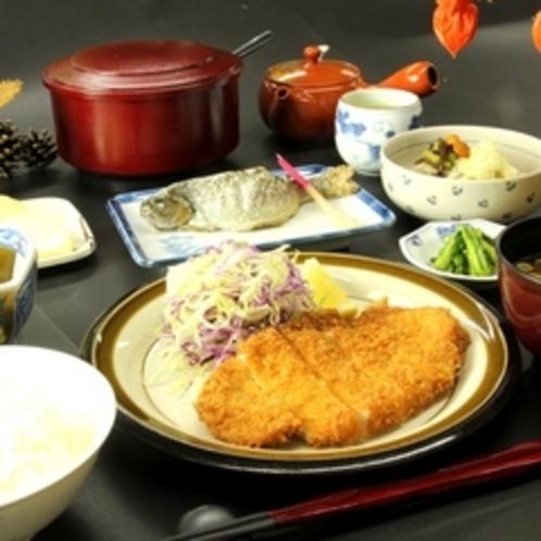 夕食全体(1)
