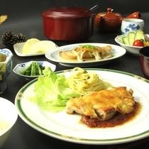 夕食全体(2)