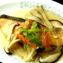 夕食の一品(白身魚)