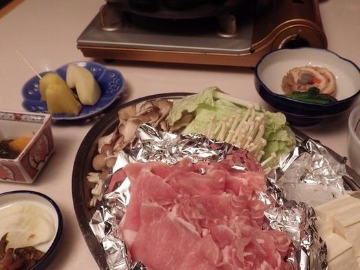 美味し〜い 伊達黄金豚のすき焼きコース