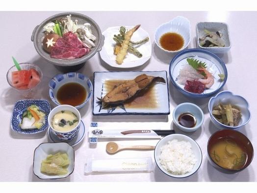 ☆朝食なし☆夕食A4以上ランク!「「奥洞爺牛・陶板焼き御膳」」
