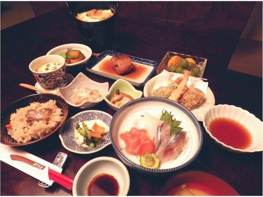 ☆朝食なし☆夕食 「湯人家御膳」地元・奥洞爺の恵みたっぷり