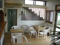 1階共用食堂。