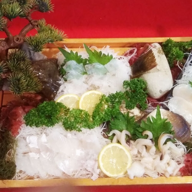 【グレードアップ】贅沢に!主人が獲った新鮮な日間賀島のグルメを堪能