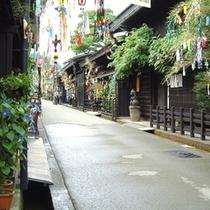 古い町並み(夏)