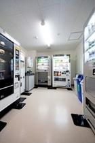 自動販売機コーナー(2階)