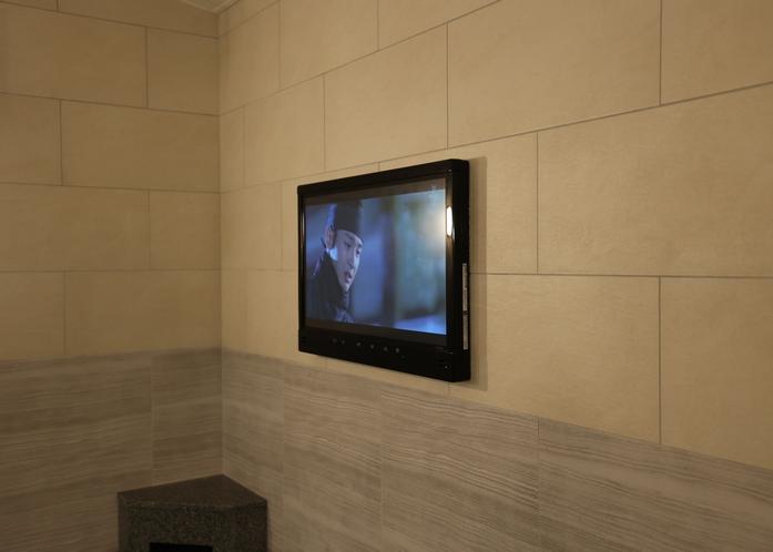 浴室内テレビ(男性専用大浴場)