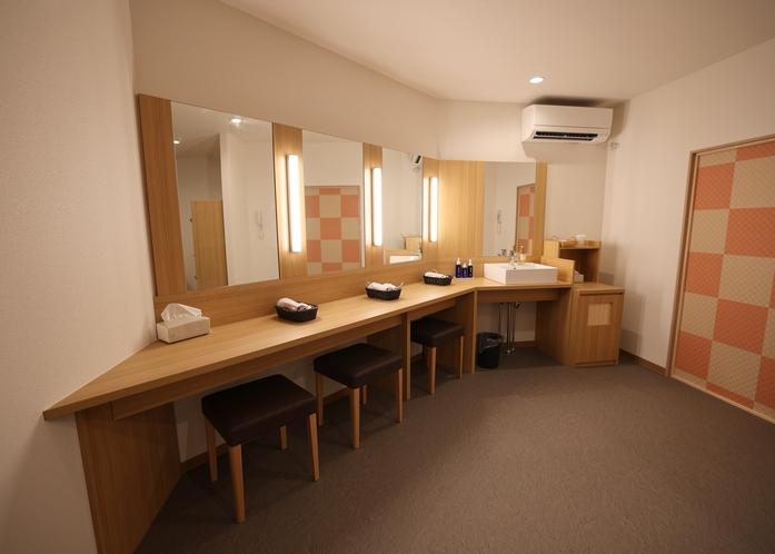 洗面カウンター(女性専用大浴場)
