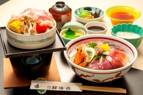 海鮮丼コース一例