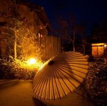 回廊(傘)