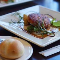 【レストラン】グランディール 昼食一例
