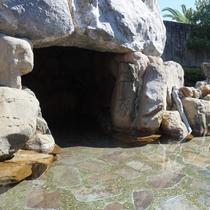 【露天風呂】洞窟風呂