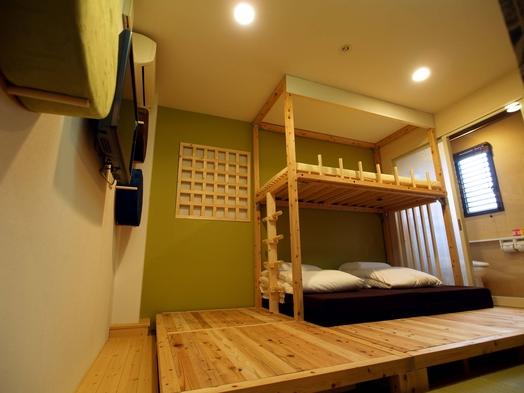 【オンライン決済】和室ファミリールーム 6歳未満添寝OK/シャワー・トイレ完備/JR奈良駅徒歩4分