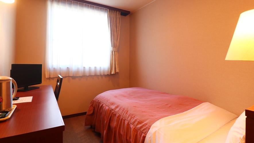 客室一例/シングルルーム 全館WiFi完備