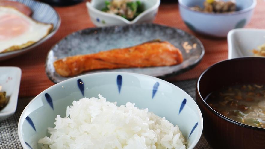 朝食一例/ボリュームたっぷりの和定食